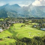 At Makai, many of the holes have a chummy relationship with the Pacific.