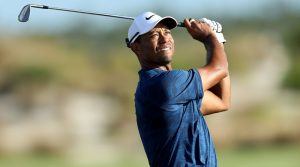 Tiger Woods pictured during the 2018 Hero World Challenge in December