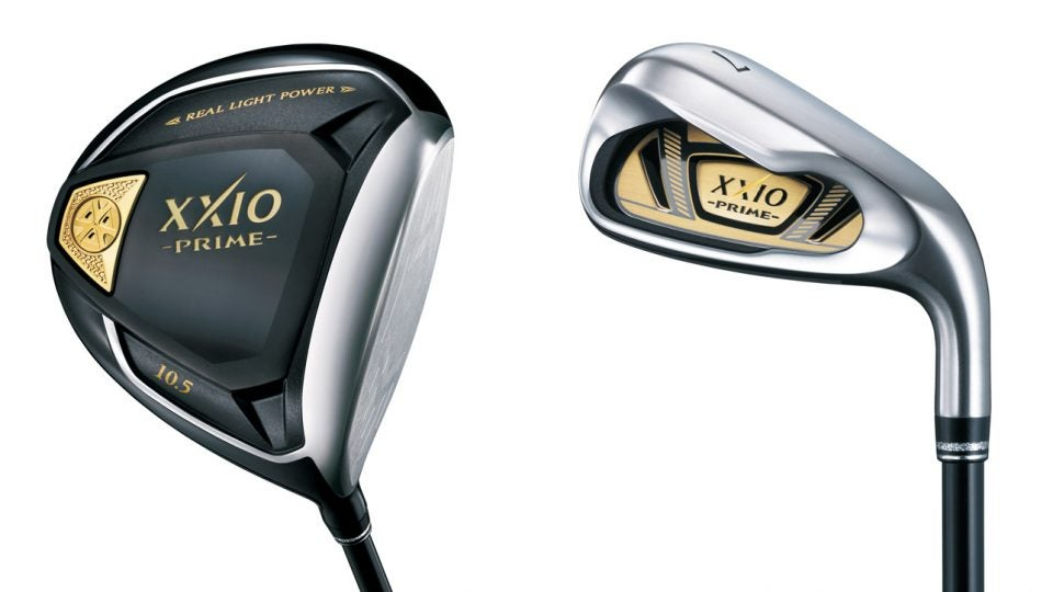 The new XXIO Prime driver and irons from XXIO