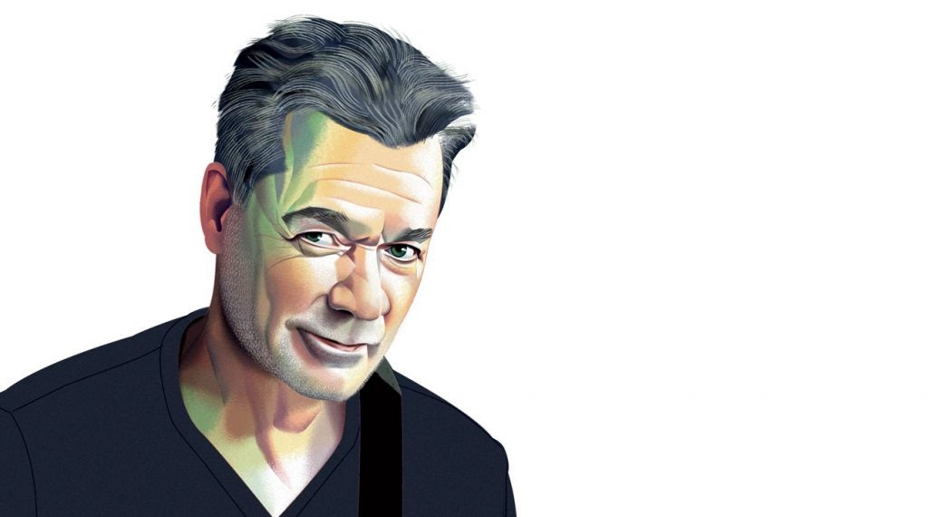 Eddie Van Halen illustration