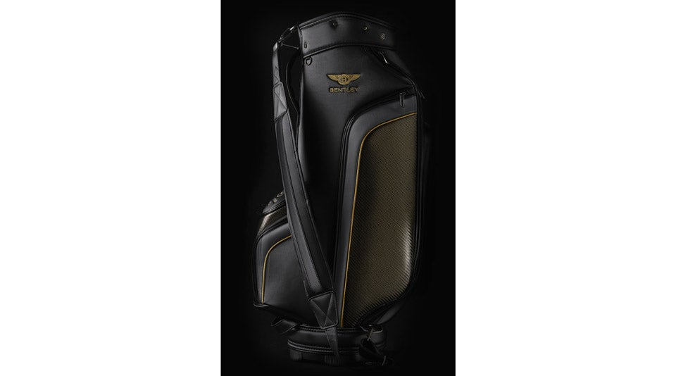 Also included in Bentley's Centenary set: a premium bag and headcovers.