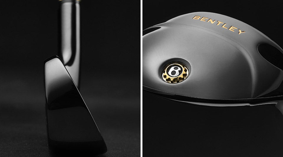 The Centenary set includes 5-AW in irons, a driver, fairway wood, ultility club, hybrid, two wedges and a putter.
