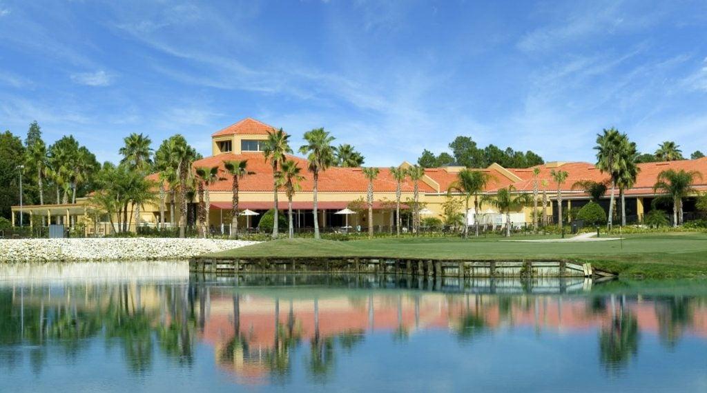 Big Cypress Golf Club has a beautiful-looking clubhouse.
