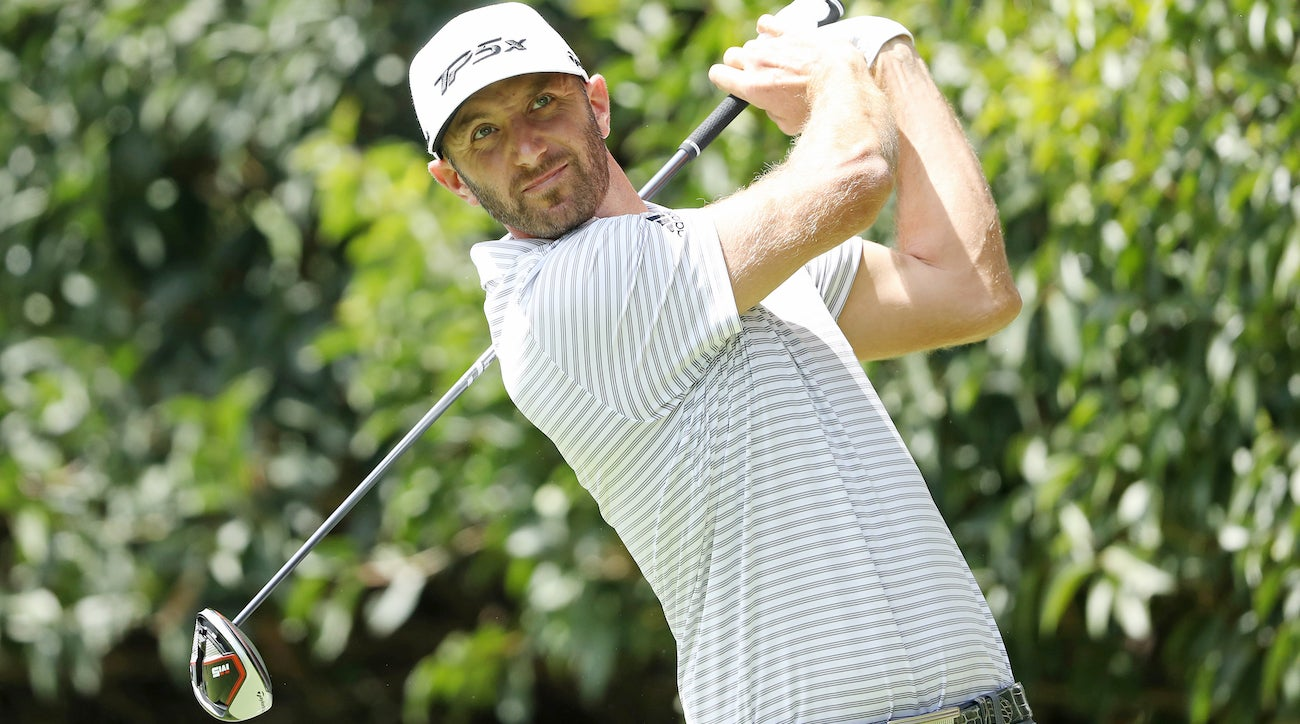 Dustin Johnson is using TaylorMade's M5 driver for the second time this season.
