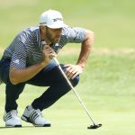 Dustin Johnson led the field in putting in Mexico.
