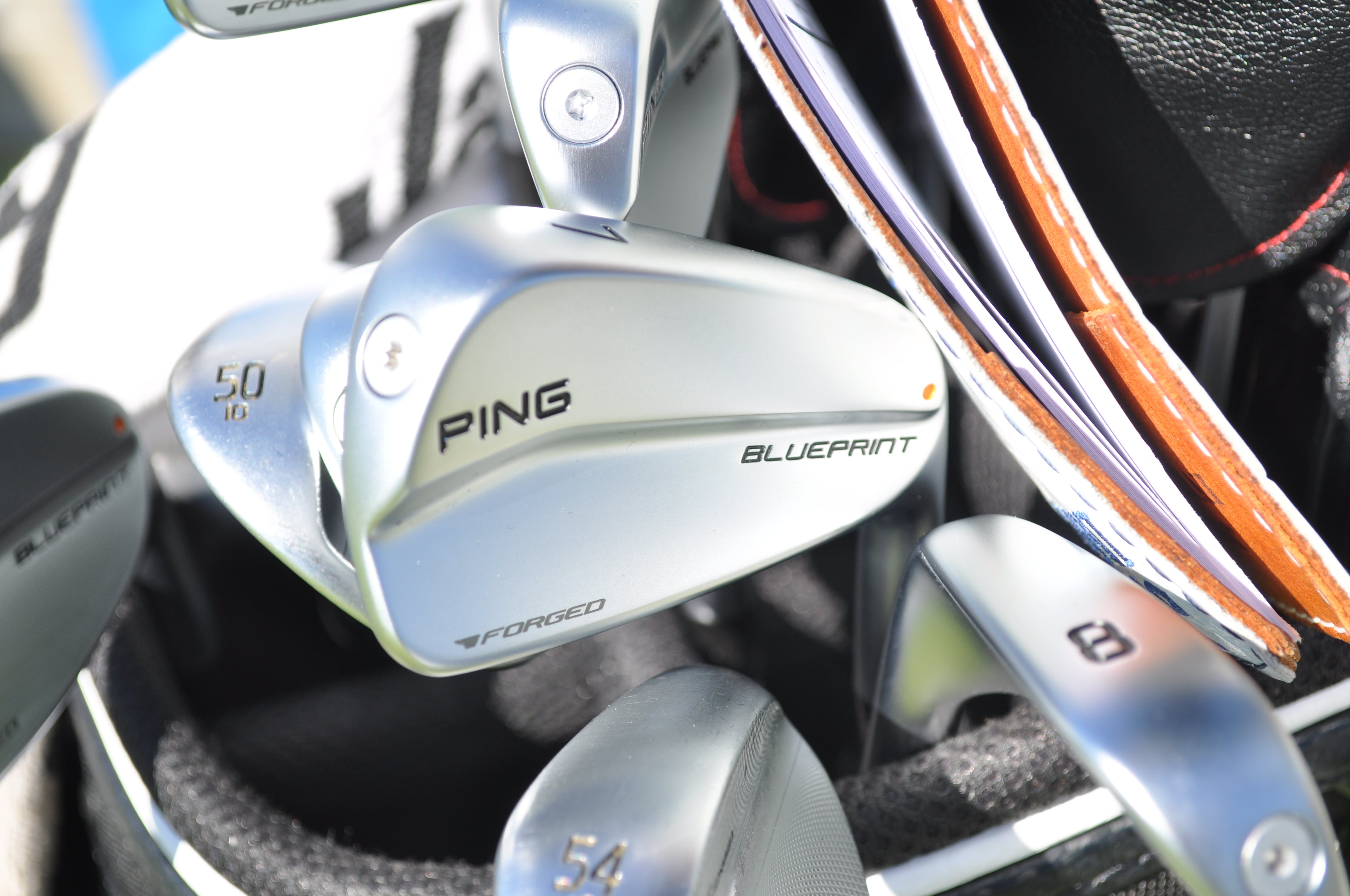 Kyle Jones' Ping Blueprint irons remain a Tour-only prototype.