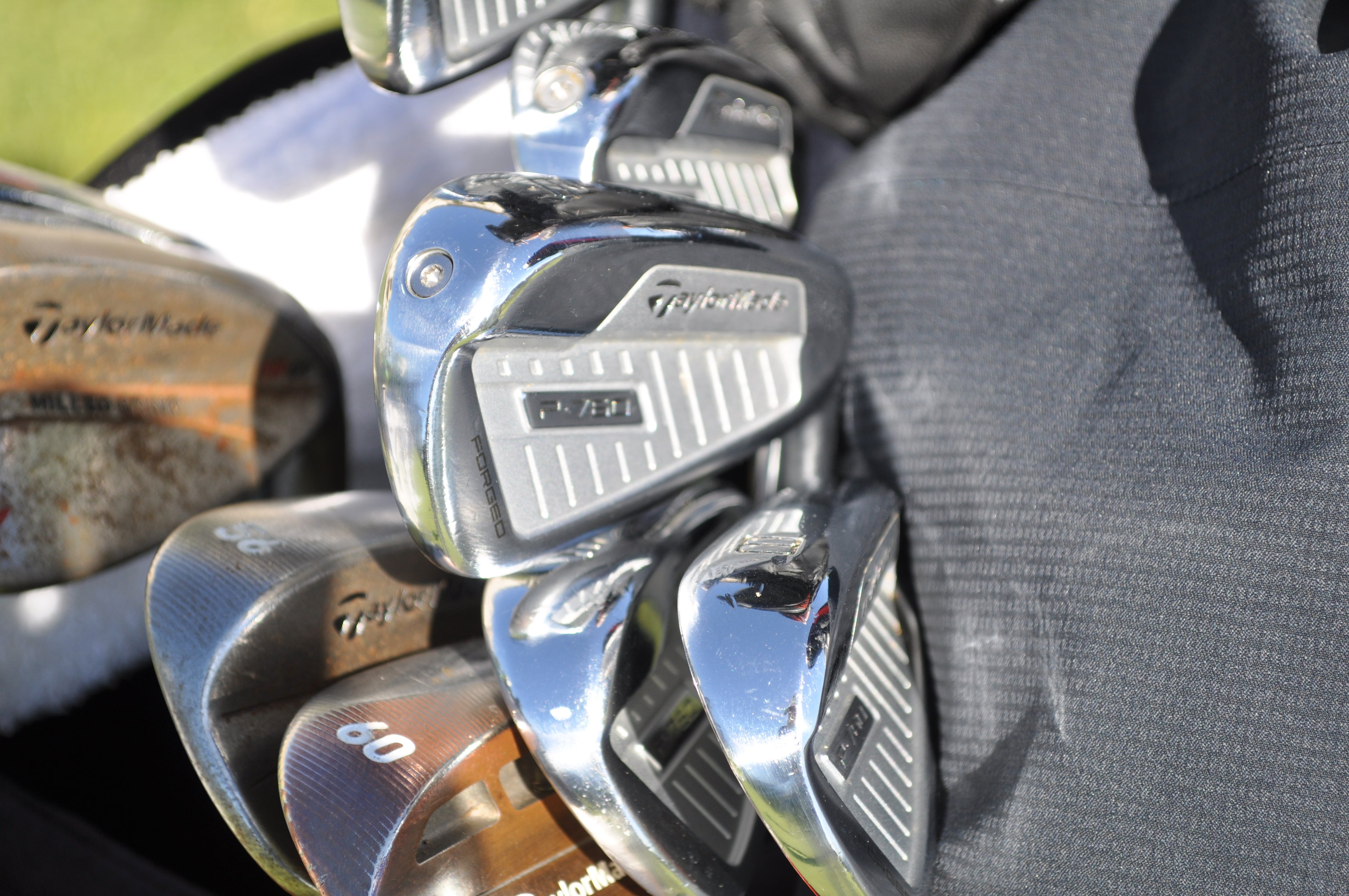 Desert Classic winner Adam Long has a full set of TaylorMade P760 irons in the bag.