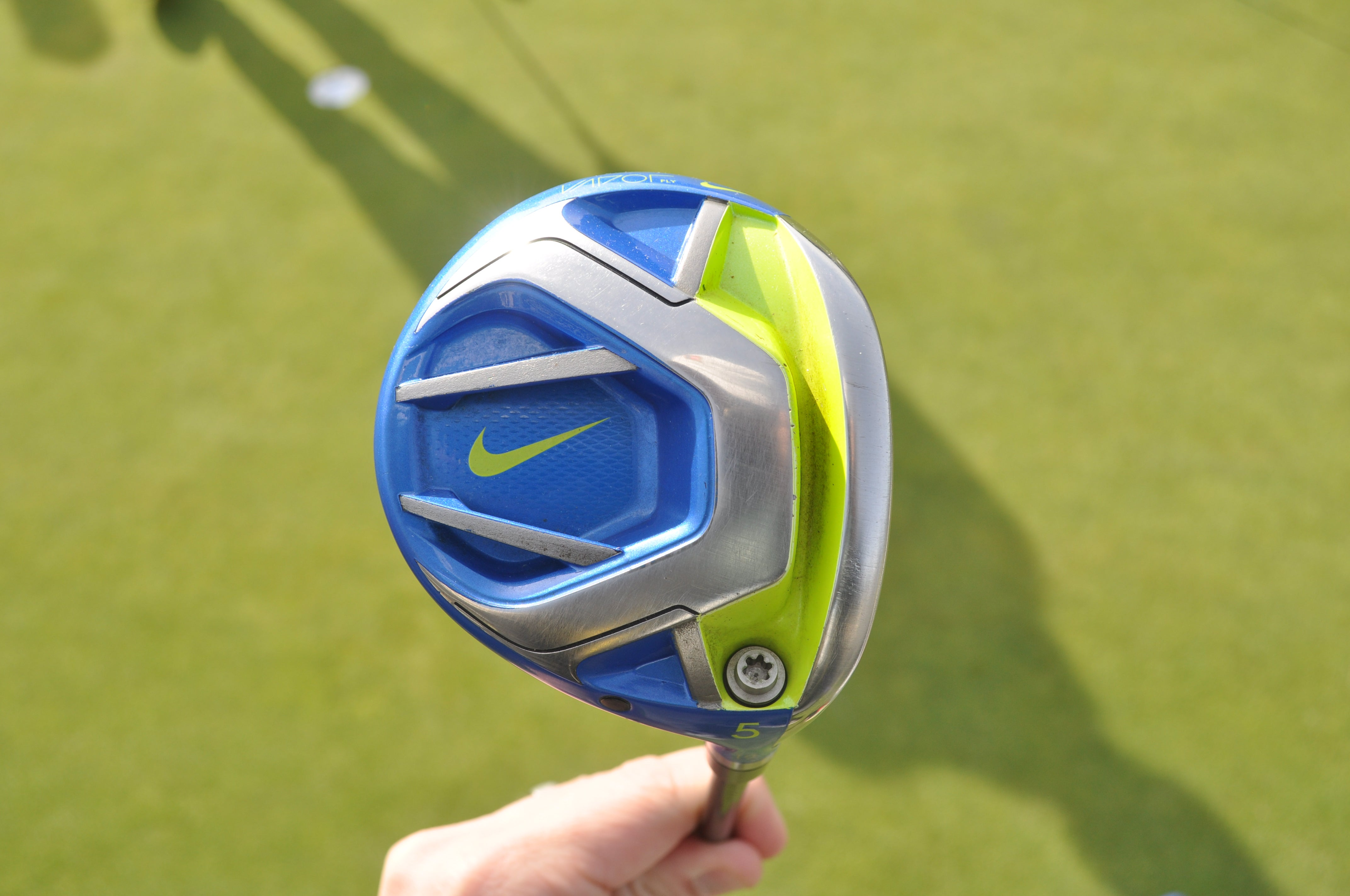 Tommy Fleetwood's lone Nike club left in the bag is a Vapor Fly 5-wood.