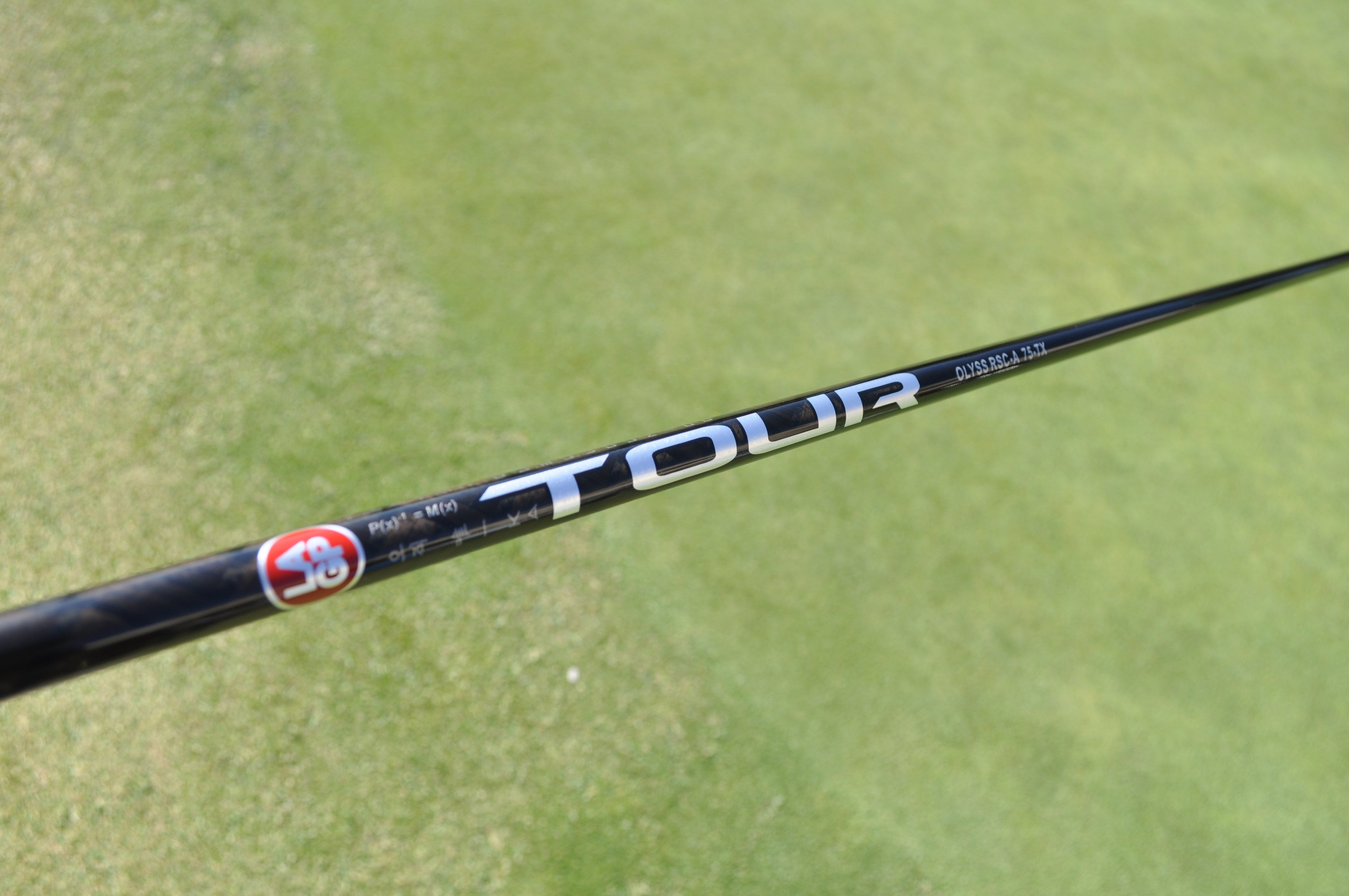 LA Golf's new OLYSS prototype driver shaft offers a low-mid ball flight with low spin.