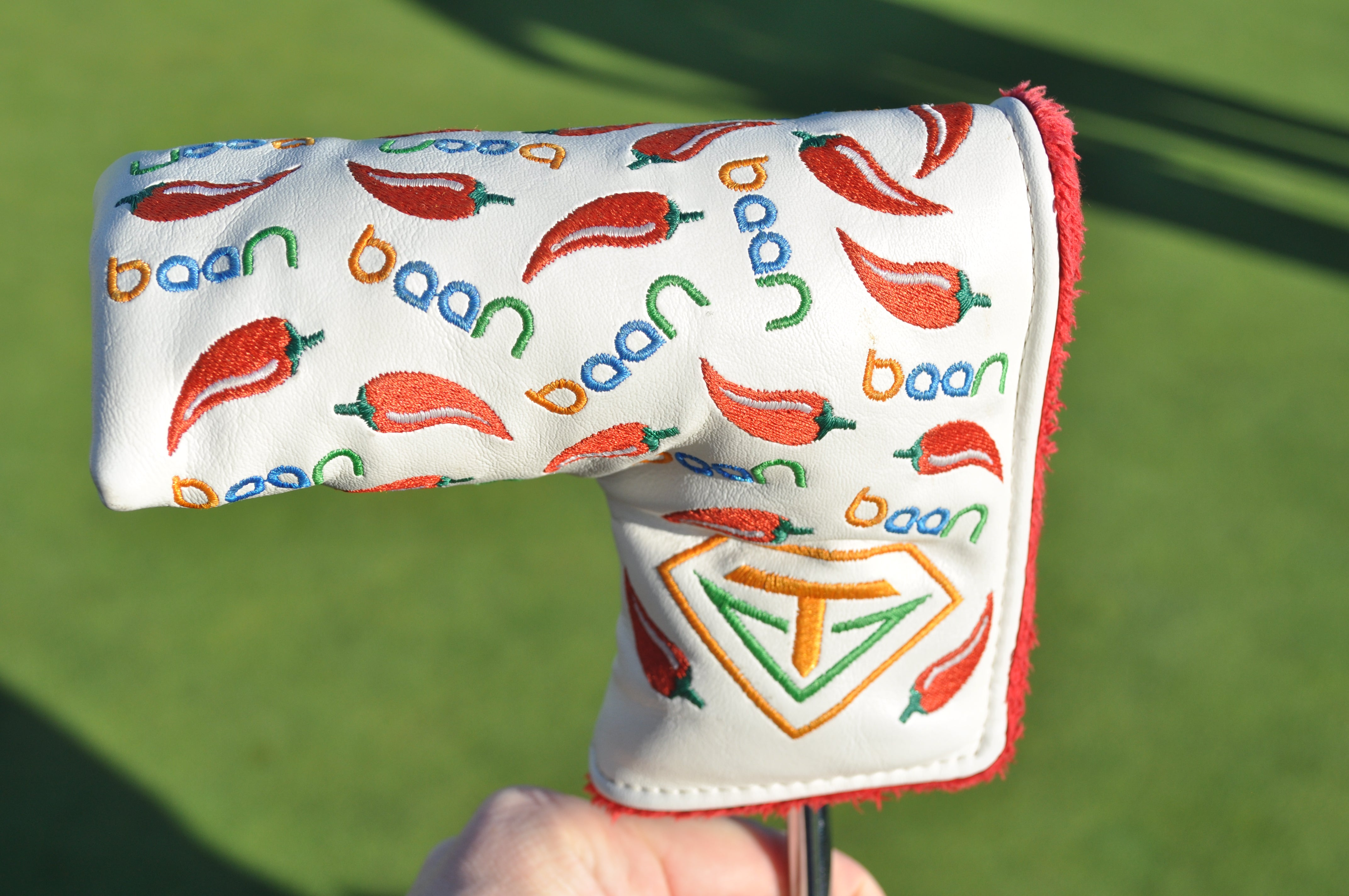 Anirban Lahiri's Chili pepper headcover.