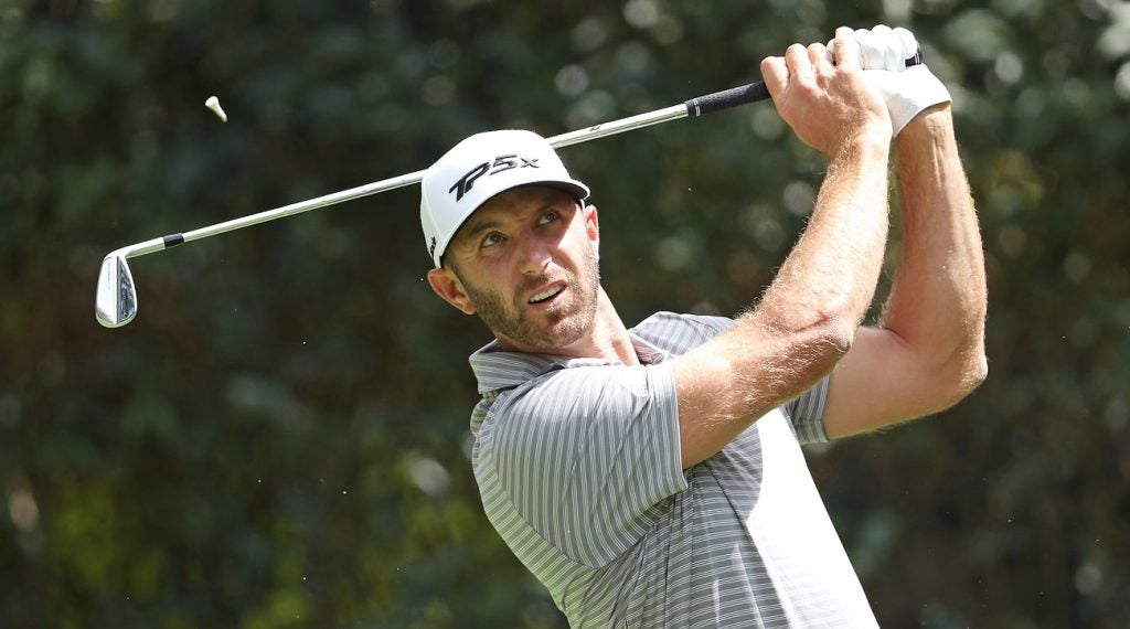 Dustin Johnson is seeking his 20th career Tour victory this week.