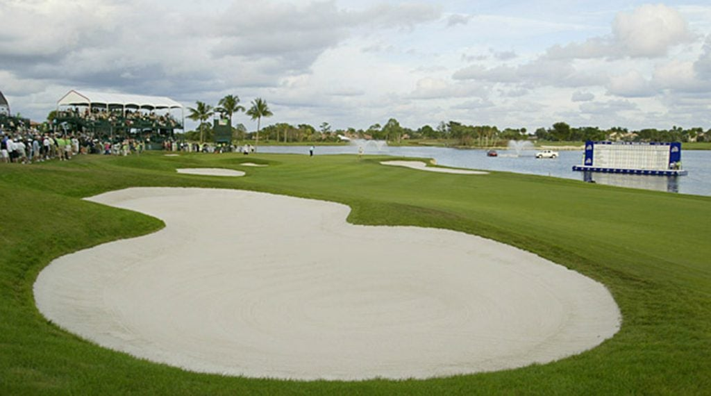 The Champion Course is considered one of the most difficult courses on the Tour.