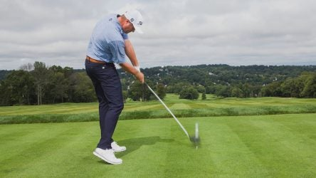 Jason Kokrak Driver tip Titleist photo shoot day 1 Montclair Golf Club, Montclair, New Jersey, USA 8/20/18 GF-144 TK1 Credit: Patrick James Miller
