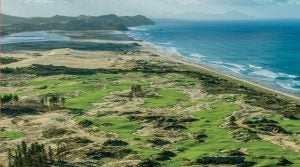 Tara Iti, perhaps New Zealand's toughest tee time, is a gorgeous Tom Doak design and one of GOLF's Top 100 Courses in the World.