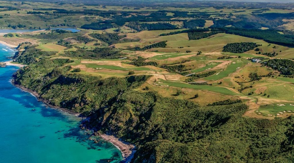 Kauri Cliffs overwhelms with coastal beauty in New Zealand.