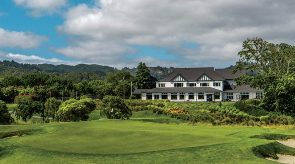Lush, inland Royal Wellington is a touch of old-school among New Zealand's vibrantly new courses.