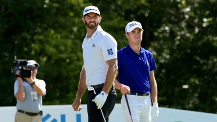 Dustin Johnson and Justin Thomas are the odds-on favorites to win this week at the WGC-Mexico Championship.