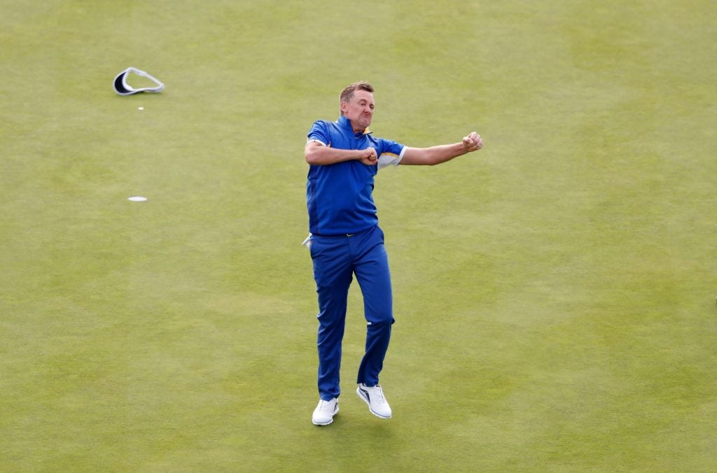 Ian Poulter's golf mental game requires lots of emotion