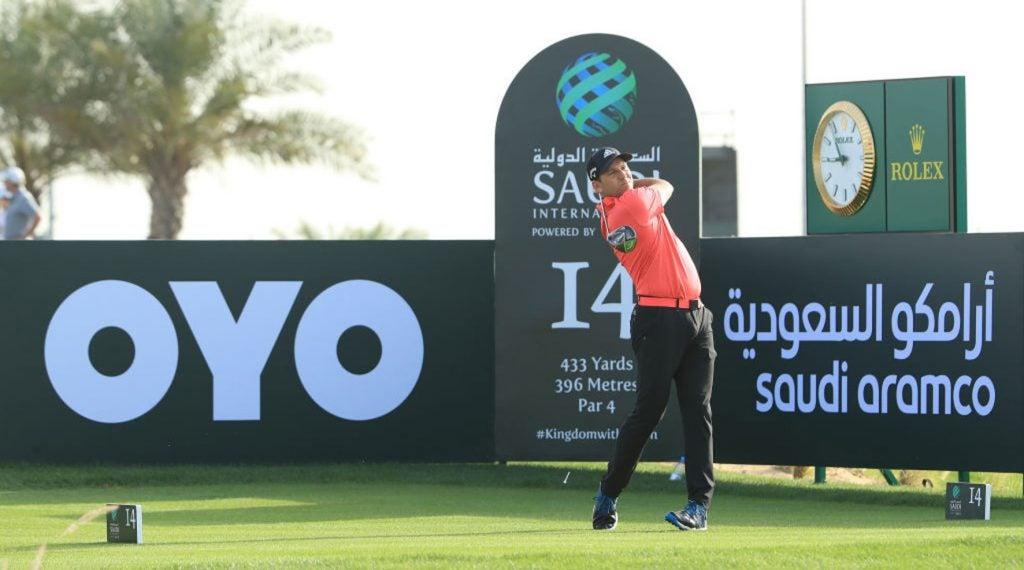 Sergio Garcia did not have a good time in Saudi Arabia last week.