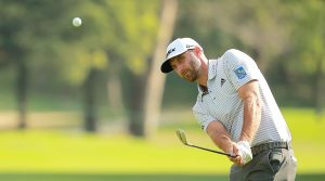Dustin Johnson is the leader through three rounds at the WGC-Mexico Championship.