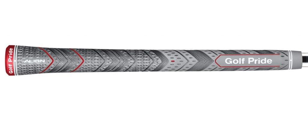 Golf Pride MCC Plus 4 Align grips.