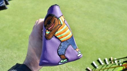 Swag Golf created a special putter cover for Harold Varner III.
