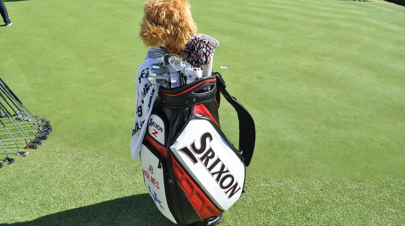 A look at J.B. Holmes's bag.