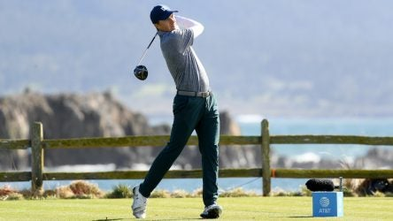 Jordan Spieth gave Titleist's TS3 driver another go at Pebble Beach..