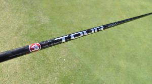 LA Golf's OLYSS RSC 75TX Prototype shaft.