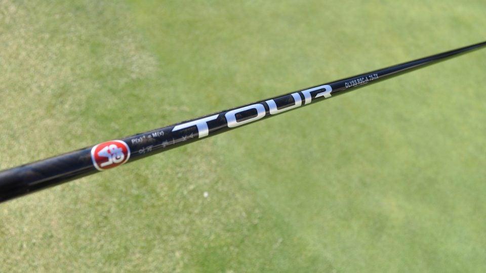 LA Golf's OLYSS RSC 75TX Prototype shaft.