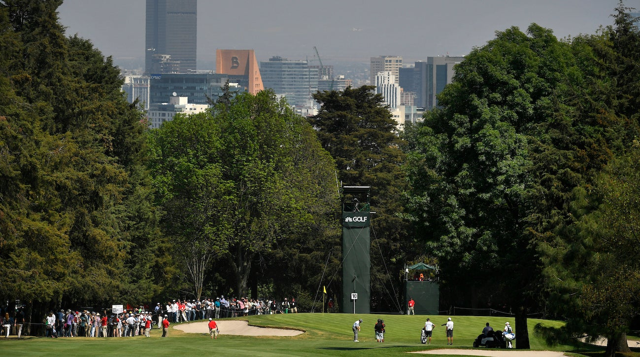 The higher altitude makes club selection even more important at the WGC-Mexico Championship.