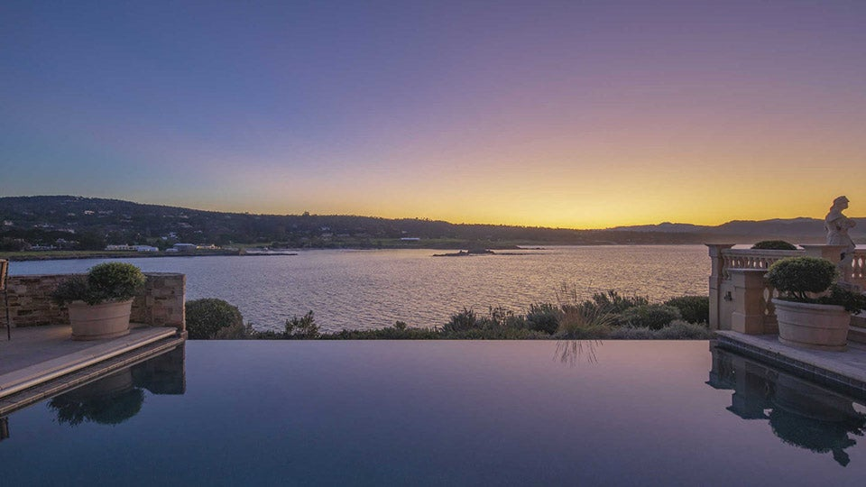 Check out the incredible view from the infinity-edge pool.