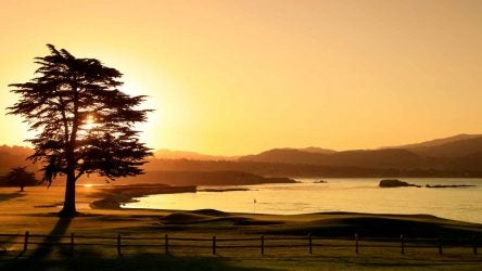 For one of our reporters, the Pebble Open meant a home game.