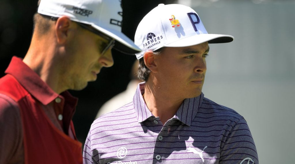 Rickie Fowler is not a fan of the revised drop rule.