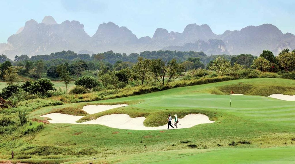 The Lake Course at Sky Lake Resort in Hanoi, opened in 2012, has ample greenery—and teeth.