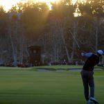 Tiger Woods morning