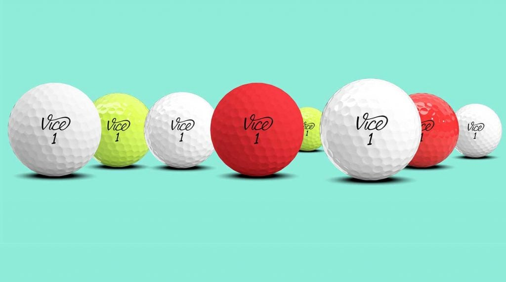Vice Golf has several customization options for buyers.