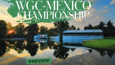 Picture of golf course, WGC-Mexico