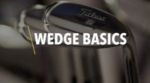 Picture of wedges, golf clubs