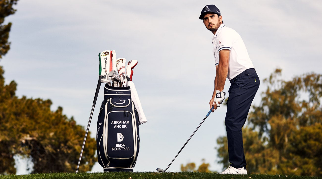 Abraham Ancer is the first PGA Tour player to sign an endorsement deal with Miura Golf