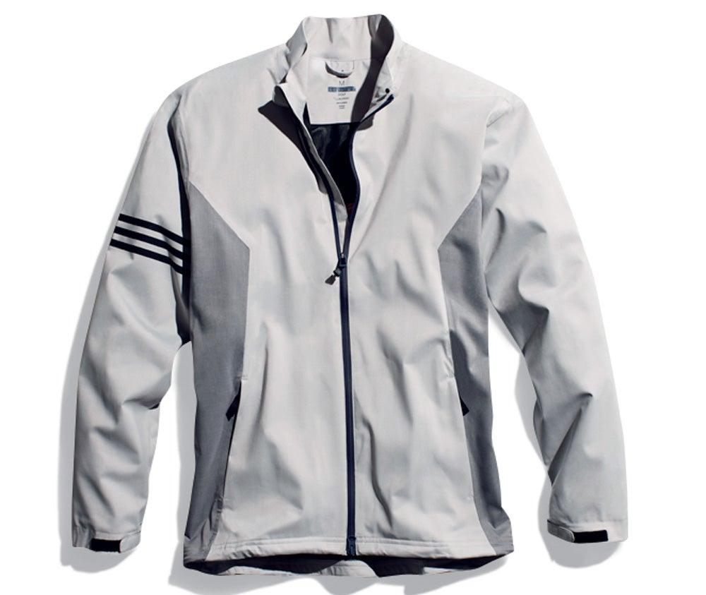 The Adidas Climaproof rain jacket.