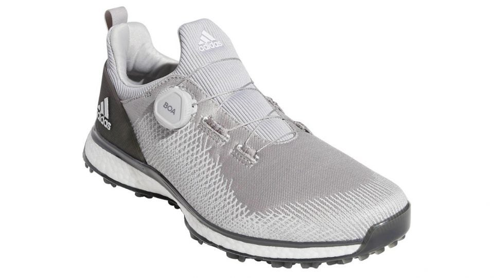 The new Adidas Forgefiber BOA golf shoe