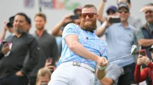 MLB pitcher Archie Bradley pictured during the 2019 Waste Management Phoenix Open Pro Am