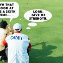 Pray for this caddie. This guy is taking golf too seriously.