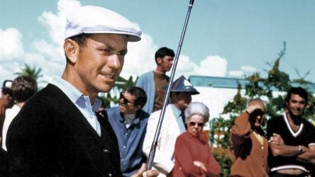 In his playing prime, a dapper L'il Pro striped it in eight U.S. Opens.