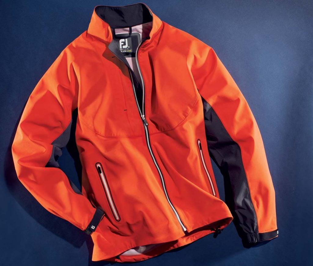 The FootJoy DryJoys Tour LTS rain jacket.