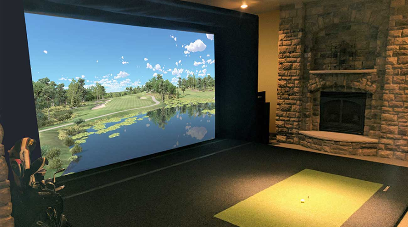 Full Swing Golf simulator