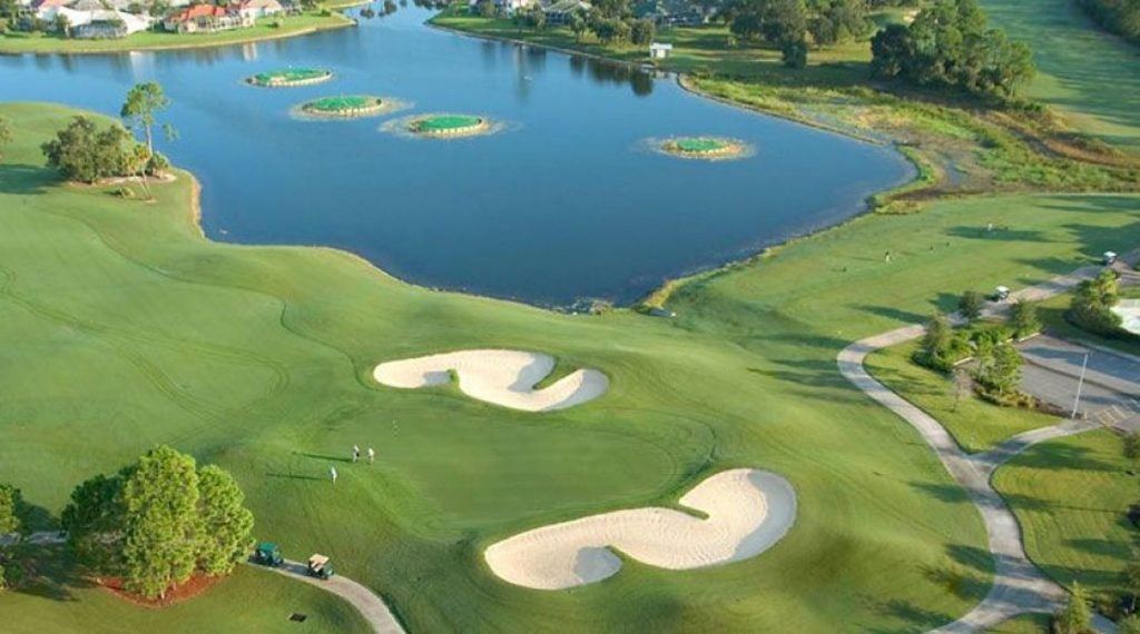 Charlotte Harbor National Golf Club was once called Bobcat Trail Golf Club.