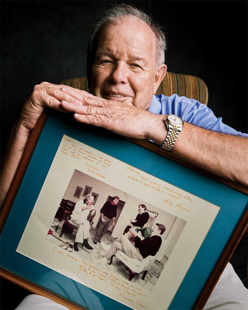 """""""The Old Man"""" and other golfers from that day at Augusta signed a photo for Wiles. The Augusta membership has been far less hospitable."""