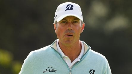 Matt Kuchar received a chilly reception from some fans Friday.